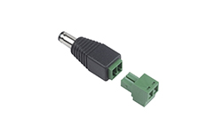 DC Plug (male) to removable terminal