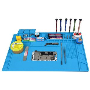 Silicone Pad Heat Insulation Desk Work Mat Maintenance Platform