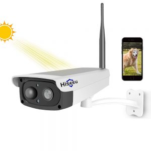 Solar Powered 1080P WiFi Video Surveillance Camera