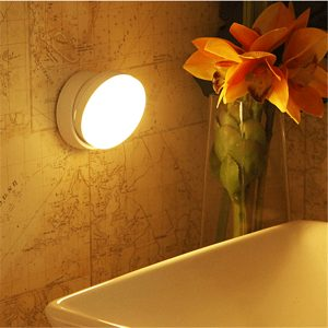 USB Rechargeable PIR Motion Sensor LED Night Light