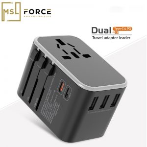 Power Cube Socket Universal Plug Outlet 1 Dual Type C PD QC USB