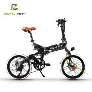 Folding Electric Bike 7 Speeds 48V 8AH Hidden Battery