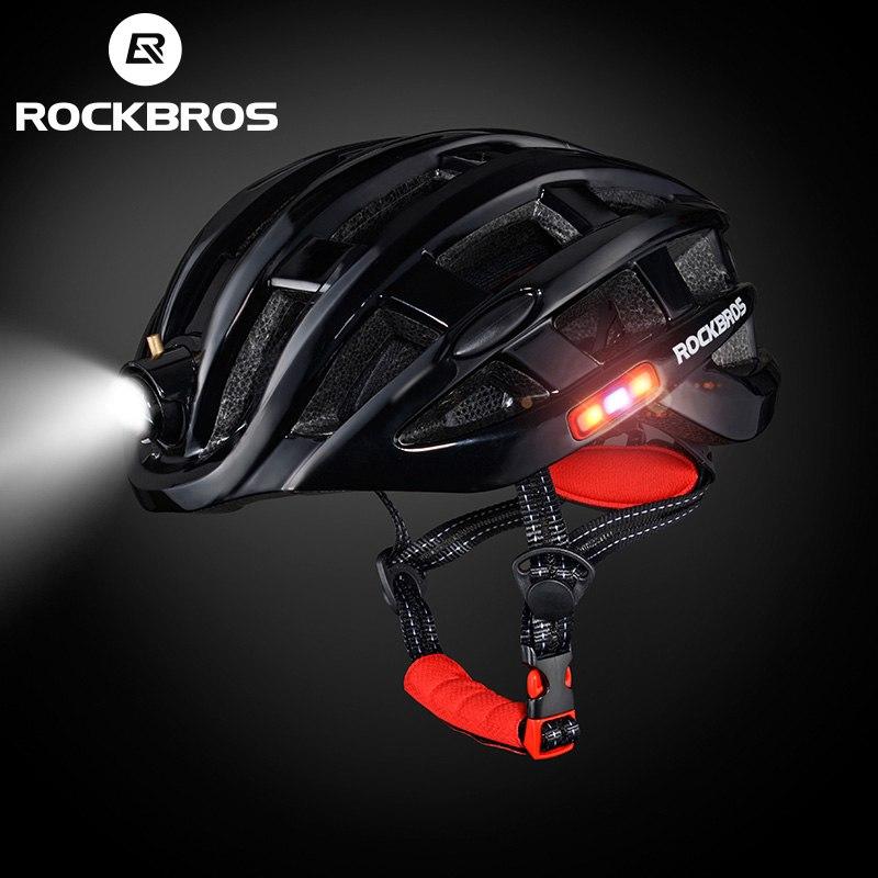 ROCKBROS Cycling Helmet 57-62cm Integrally Sports 3 in 1 MTB Road Bike Hemlet