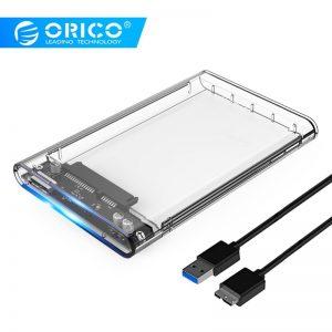 Hard Drive Box Enclosure 2.5″ HDD/SSD Sata to USB 3.0