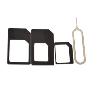 Micro+Standard+Nano Sim Card Adapters