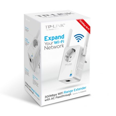 TL-WA860RE 300Mbps Wi-Fi Range Extender with AC Passthrough