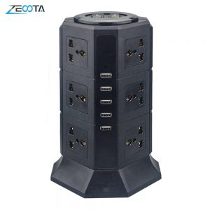 Power Strip Surge Protector 8/12 Universal Outlets with 5 USB Sockets